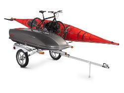 Rack and Roll Kayak Trailer, dooit activity trailer, malone kayak